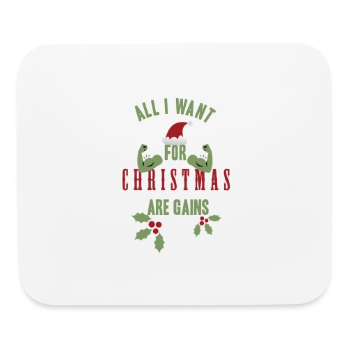 All i want for christmas - Mouse pad Horizontal