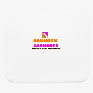 DRUNKEN GROWNUPS - Mouse pad Horizontal