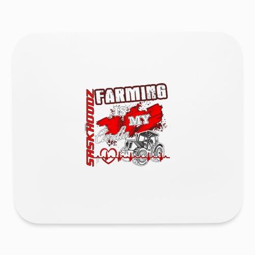 saskhoodz farming - Mouse pad Horizontal