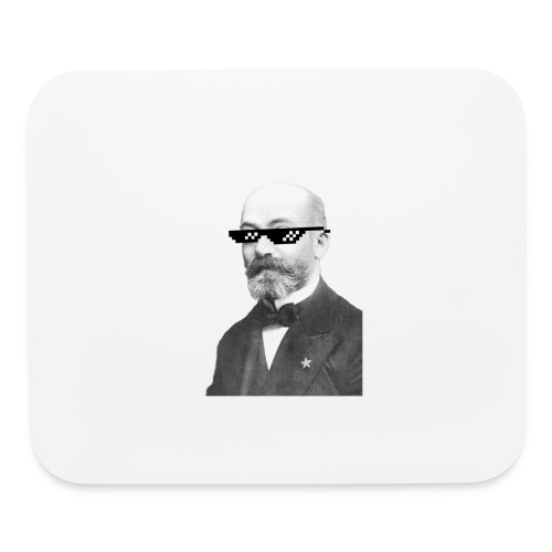 Zamenhof Shades (BW) - Mouse pad Horizontal