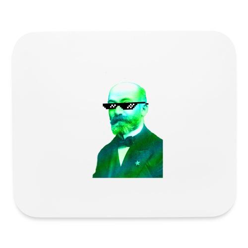 Green and Blue Zamenhof - Mouse pad Horizontal