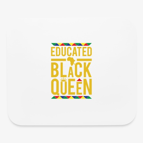 Educated Black Queen - Mouse pad Horizontal