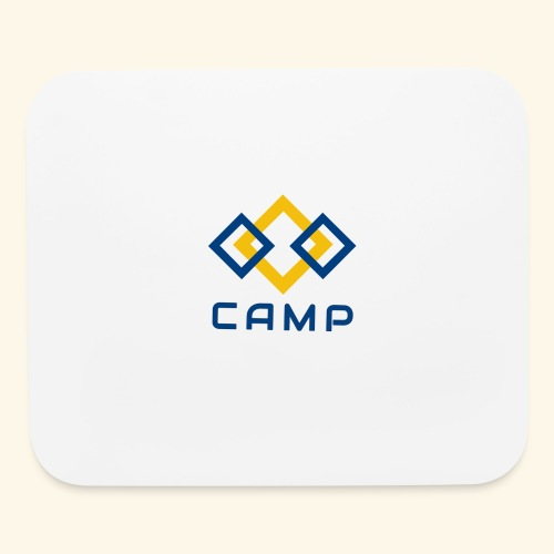 CAMP LOGO and products - Mouse pad Horizontal
