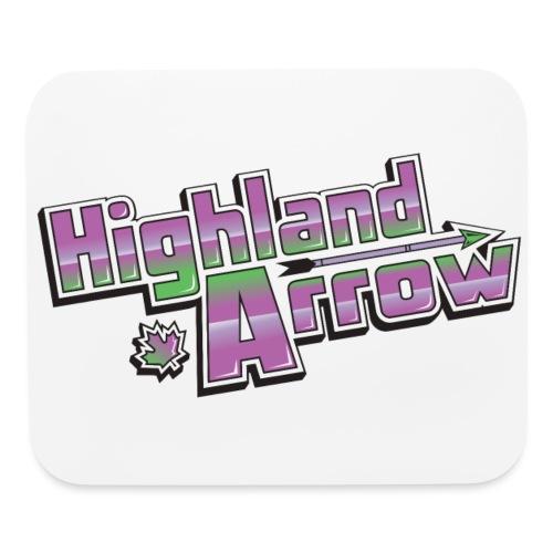 Highland Arrow Logo - Mouse pad Horizontal