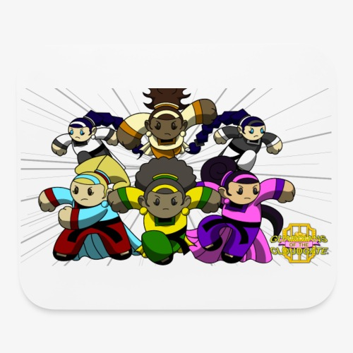 The Guardians of the Cloudgate w/ Logo - Mouse pad Horizontal