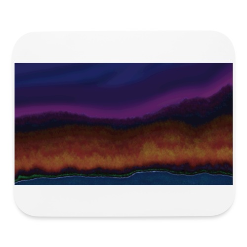 Fall Scene - Mouse pad Horizontal