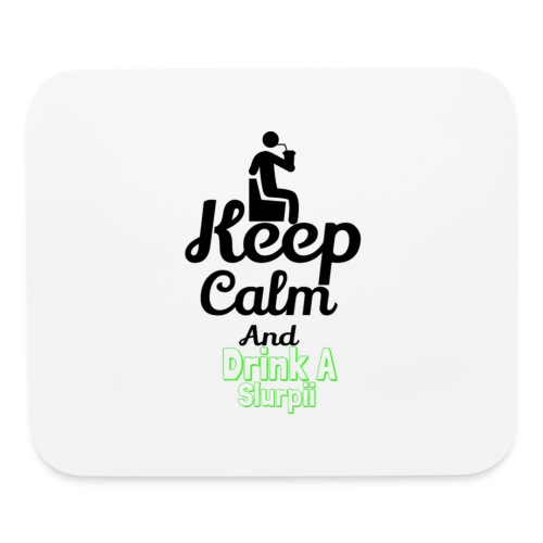 Slurpii logo 2 - Mouse pad Horizontal