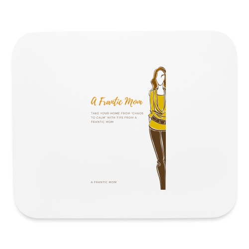 Proud Working Mom Gear - Mouse pad Horizontal