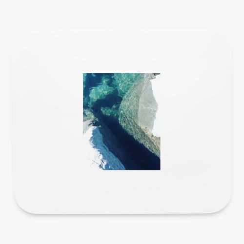 Rock underwater in New Zealand - Mouse pad Horizontal