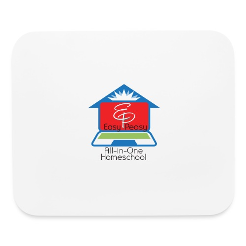 EP Logo with All-In-One Homeschool - Mouse pad Horizontal