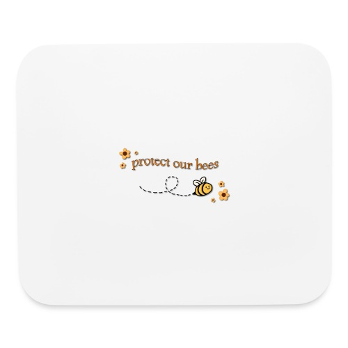 save the bees - Mouse pad Horizontal