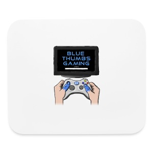 Blue Thumbs Gaming: Gamepad Logo - Mouse pad Horizontal