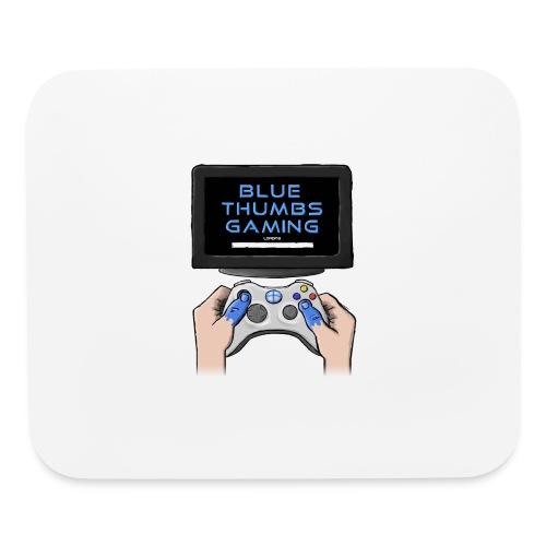 Blue Thumbs Gaming: Gamepad Logo - Mouse pad Horizontal