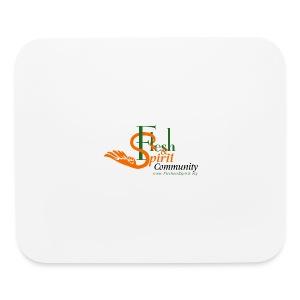 Flesh and Spirit Community T-Shirt - Mouse pad Horizontal