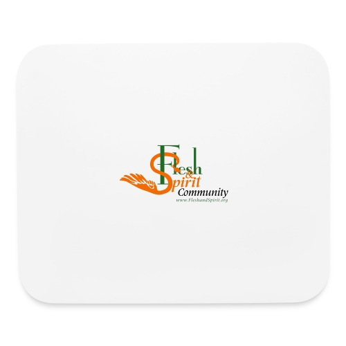 Flesh and Spirit Community T-Shirt - Mouse pad Horizontal