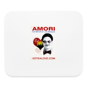 Amori for Mayor of Los Angeles eco friendly shirt - Mouse pad Horizontal