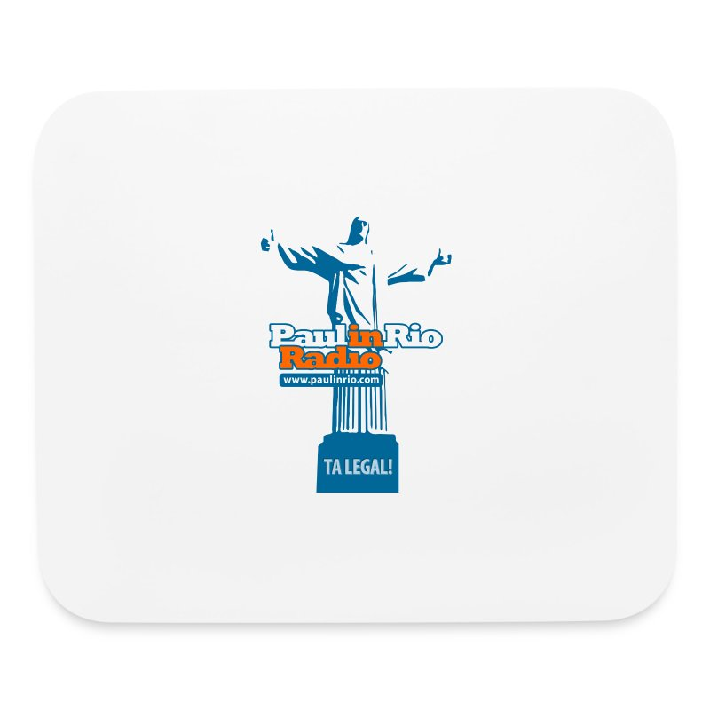 Paul in Rio Radio - The Thumbs up Corcovado #2 - Mouse pad Horizontal