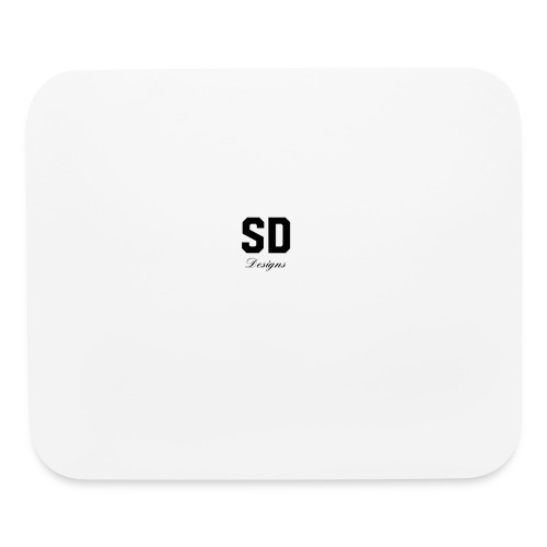 SD Designs blue, white, red/black merch - Mouse pad Horizontal