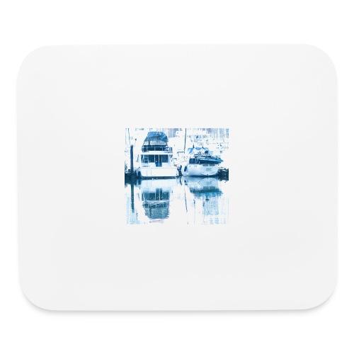 December boats - Mouse pad Horizontal