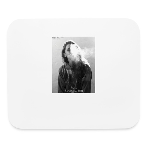 Cr0ss Smoke drop - Mouse pad Horizontal