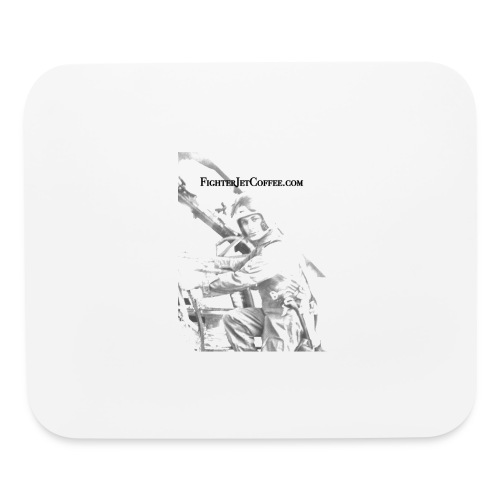 FigherTeeLogo - Mouse pad Horizontal