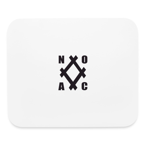noac b diamond transparent - Mouse pad Horizontal