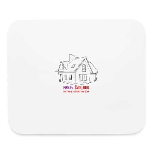 Fannie & Freddie Joke - Mouse pad Horizontal