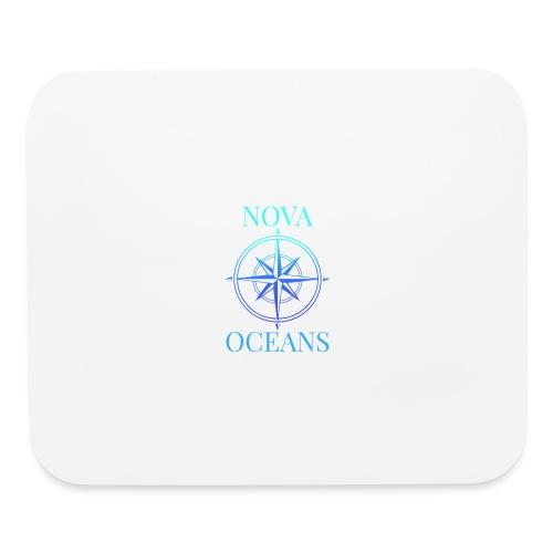 logo_nova_oceans - Mouse pad Horizontal