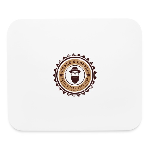 Beard and Coffee Merch - Mouse pad Horizontal