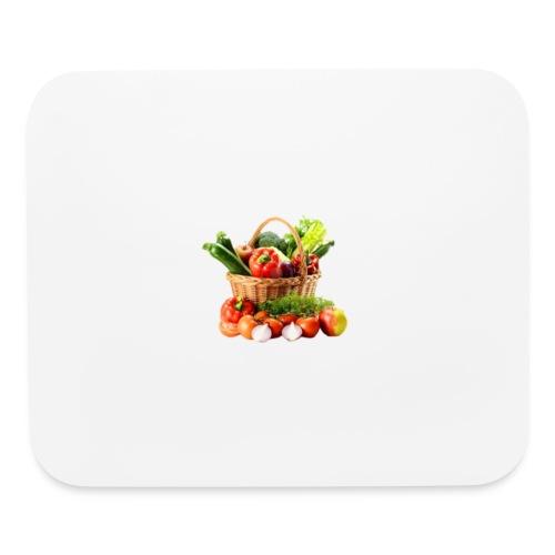 Vegetable transparent - Mouse pad Horizontal