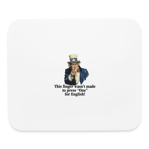 Uncle Sam - Finger - Mouse pad Horizontal