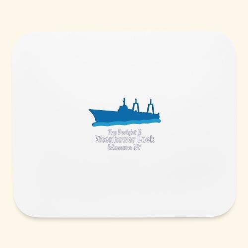 Eisenhower Lock Blue - Mouse pad Horizontal