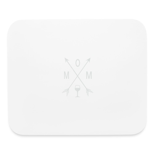 Mom Wine Time - Mouse pad Horizontal