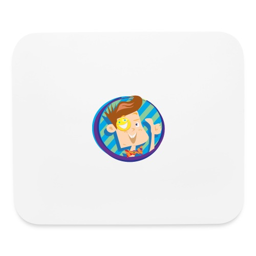 funnel boy - Mouse pad Horizontal