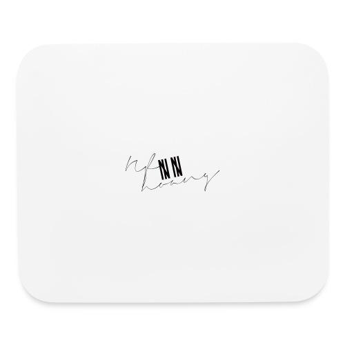 Nf8hoang |||| |||| (Black) - Mouse pad Horizontal