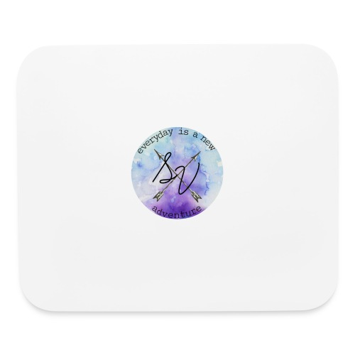 everyday is a new adventure logo - Mouse pad Horizontal