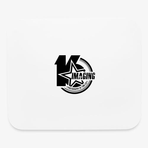 16IMAGING Badge Black - Mouse pad Horizontal