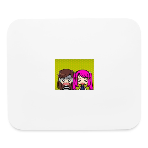 Phone case merch of jazzy and raven - Mouse pad Horizontal