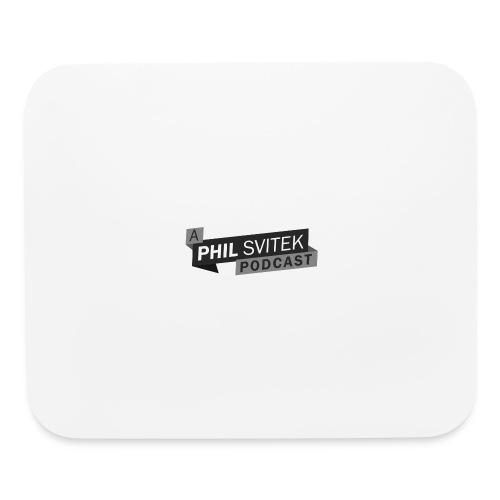 A Phil Svitek Podcast Logo ONLY Design - Mouse pad Horizontal