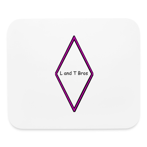 L and T Bros Shirt Purple - Mouse pad Horizontal