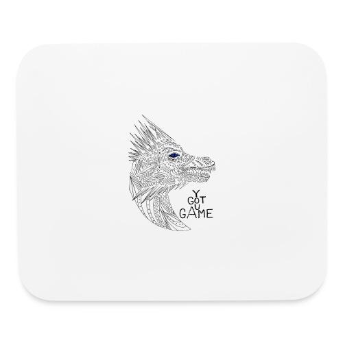 Blue eye dragon - Mouse pad Horizontal