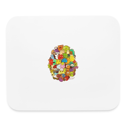 Doodle for a poodle - Mouse pad Horizontal