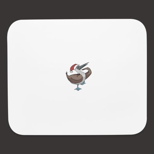Boobie Bird Xmas Dance - Mouse pad Horizontal