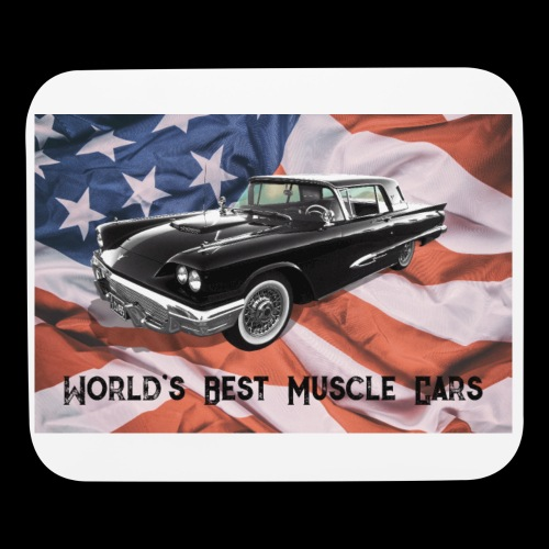 World's Best Muscle Cars - Mouse pad Horizontal