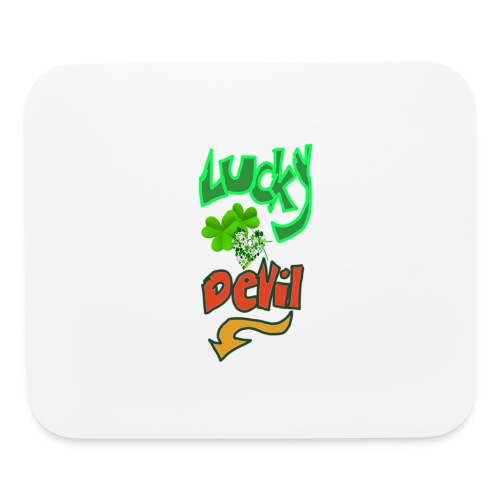 Lucky devil - Mouse pad Horizontal