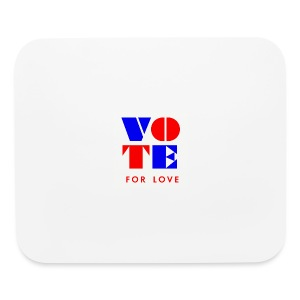 vote4love-sample - Mouse pad Horizontal