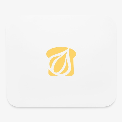Garlic Toast - Mouse pad Horizontal