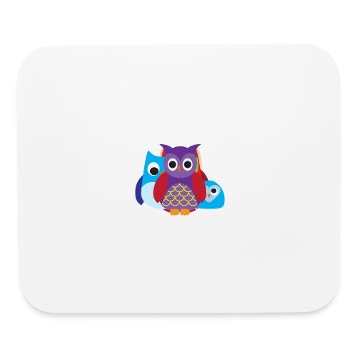 Cute Owls Eyes - Mouse pad Horizontal