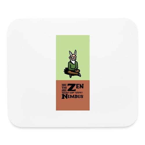 Nimbus and logo full color vertical format - Mouse pad Horizontal