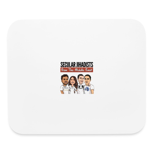 Secular Jihadists from the Middle East - Mouse pad Horizontal